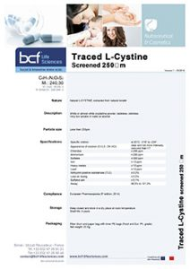 BCF-complement-traced-L-Cystine-screened-250-um