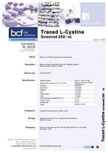 BCF-pharma-traced-L-Cystine-screened-250-um