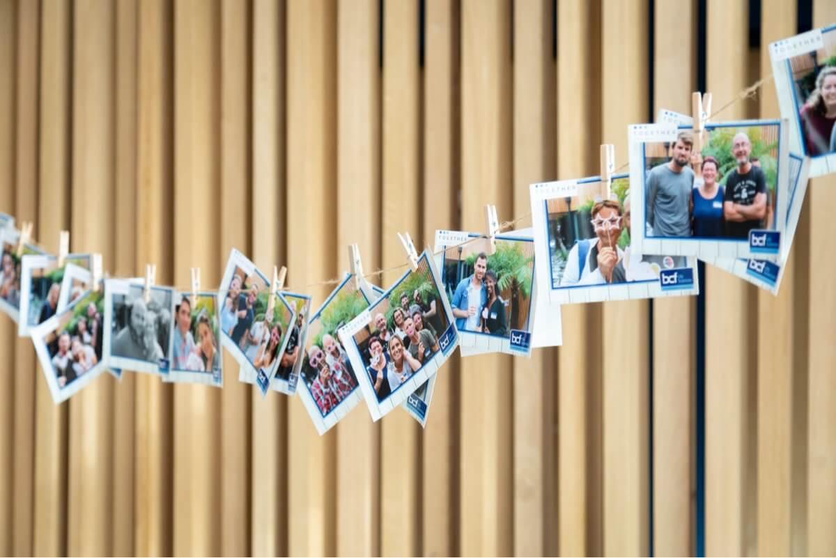 BCF mur de photos